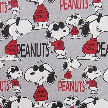 Snoopy Peanuts Joe Cool Grau Meliert Rot Schwarz Melange Hellgrau ...
