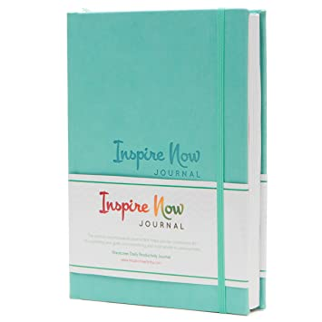 inspire now journal a5 daily weekly productivity planner