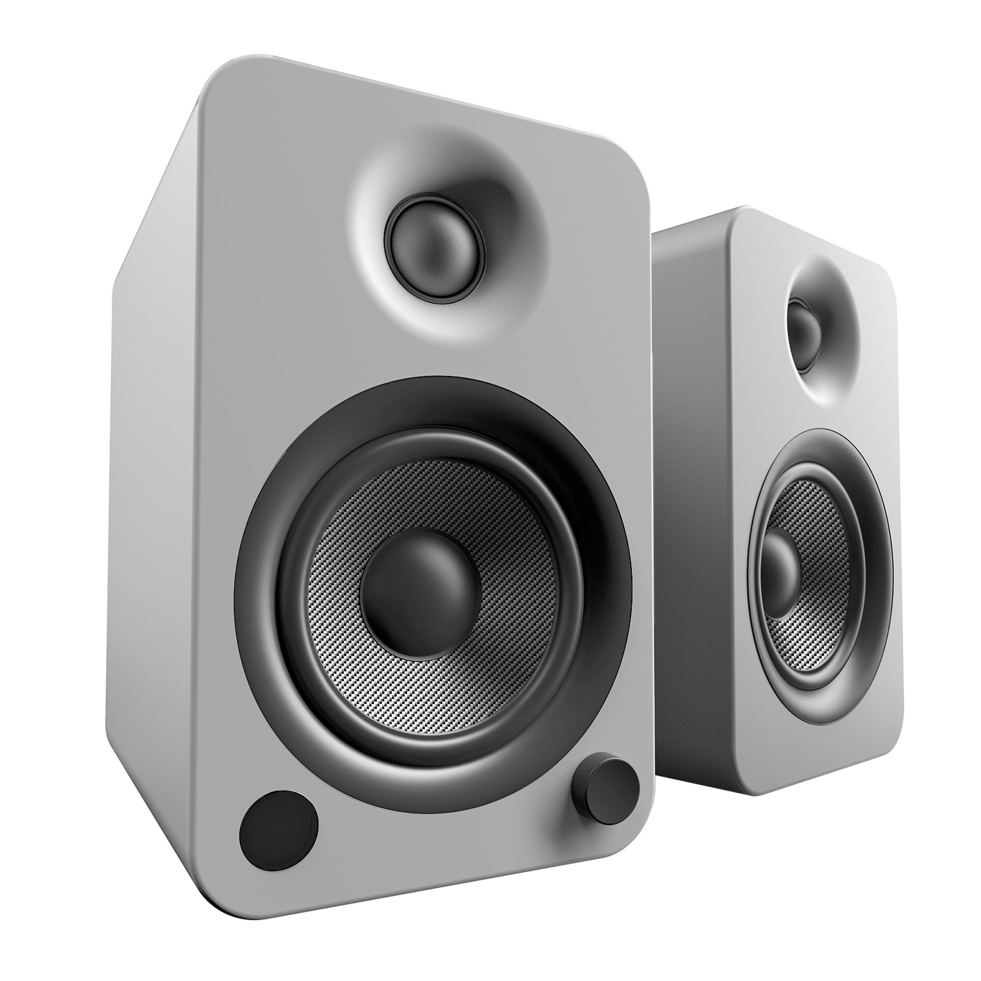 Kanto YU4 Powered Speakers with Bluetooth and Phono Preamp - Matte Grey