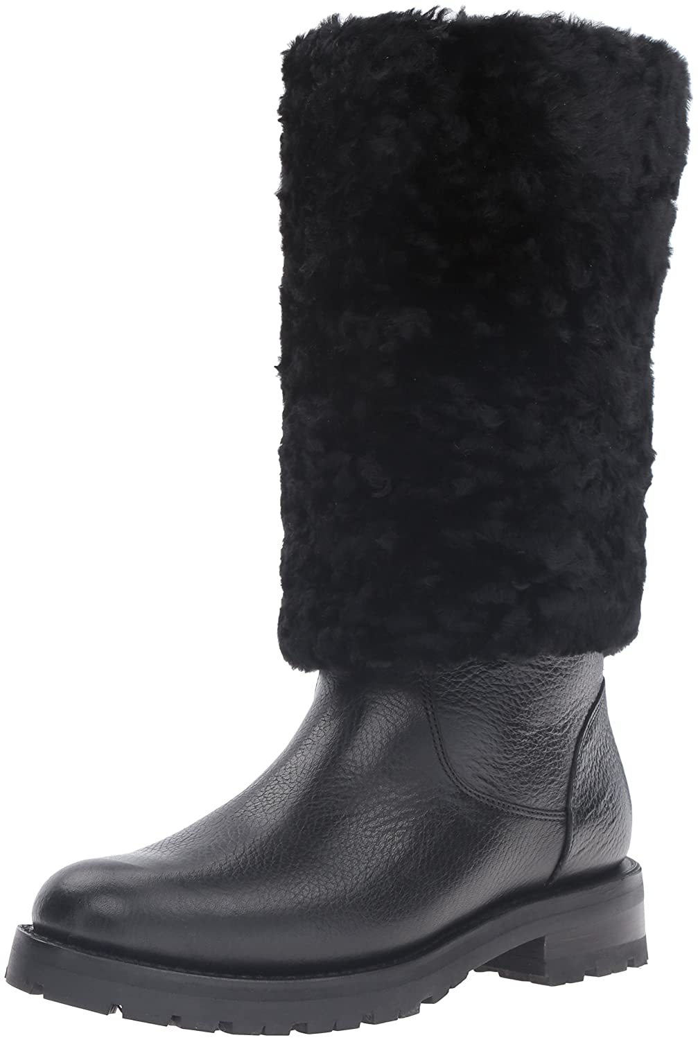FRYE Women's Natalie Cuff Lug Winter Boot B01BM0NCY2 9 B(M) US|Black