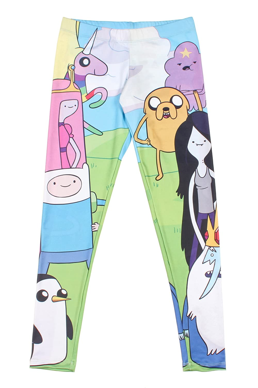 Adventure Time Character Leggings Size : Medium