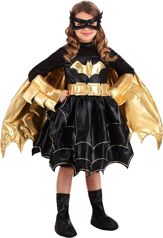 Brand New DC Comics Superhero Premium Batgirl Child Costume