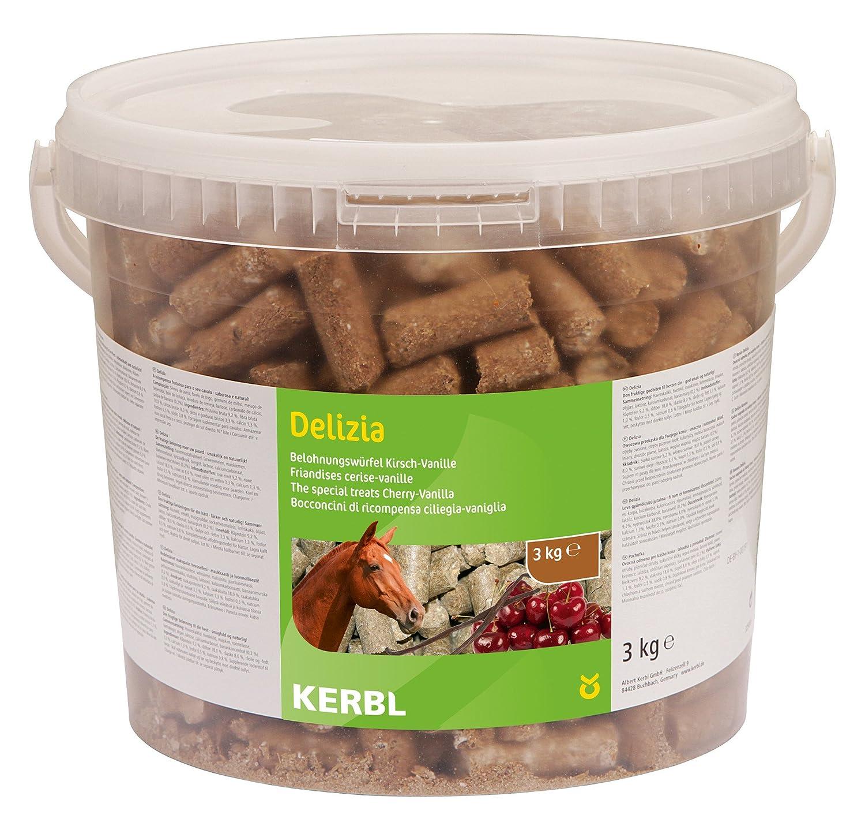 Kerbl Delizia Friandise Vanille/Cerise pour Cheval 3 kg 325124