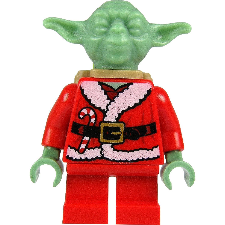Meister Yoda Figur als Weihnachtsmann mit Rucksack Set 7958 LEGO Baukästen & Sets LEGO Bau- & Konstruktionsspielzeug Lego Star Wars