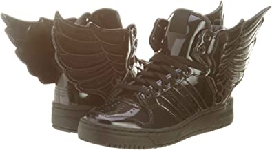 adidas - Zapatillas de caña Alta Hombre, Color Negro, Talla 38: Amazon.es: Zapatos y complementos