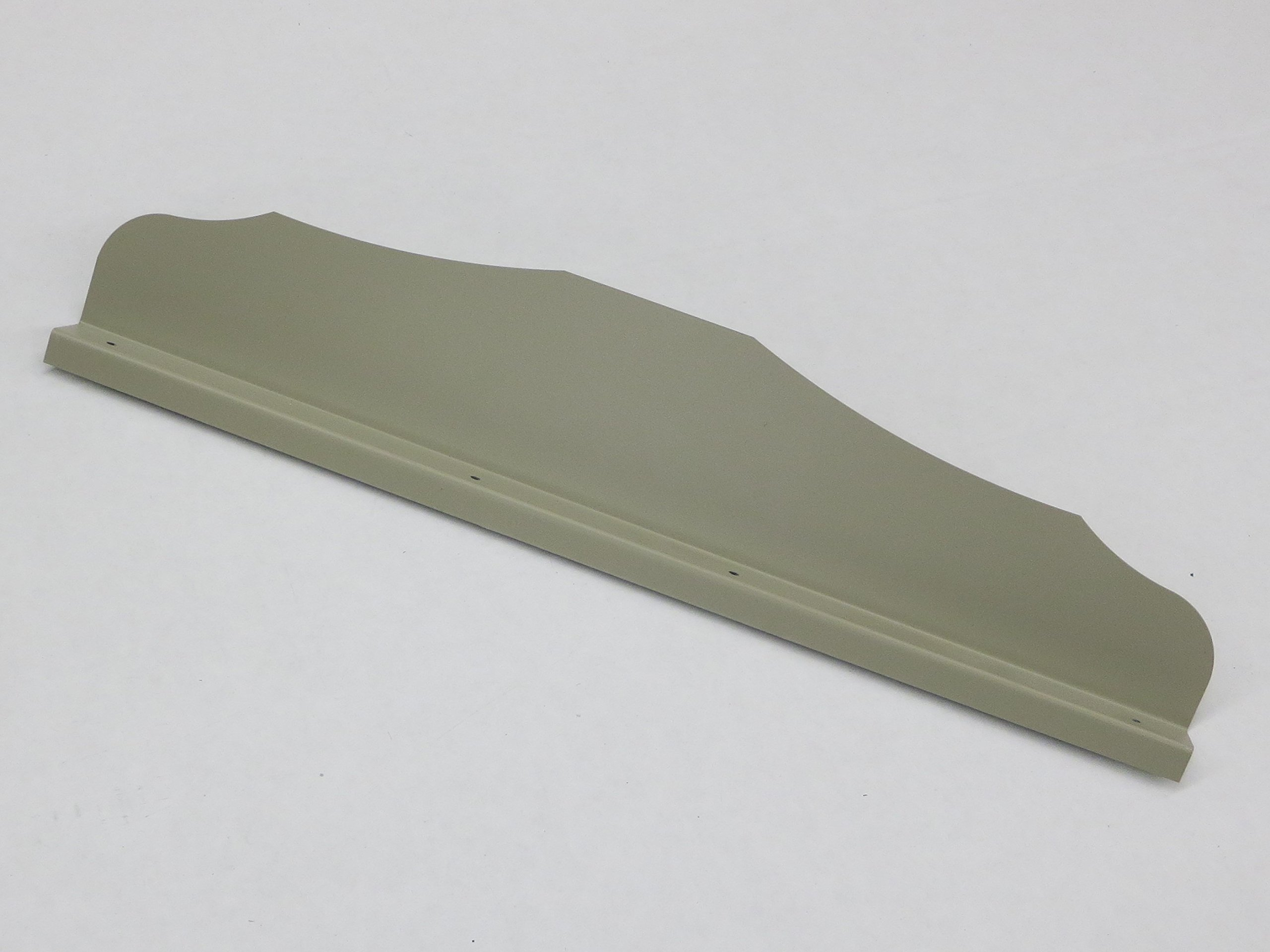 Gutter Valley Splash Guard - Straight Ornamental (BRONZE (12 CT))