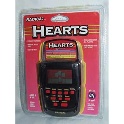 HEARTS Electronic Hand Held Game: Toys & Games
