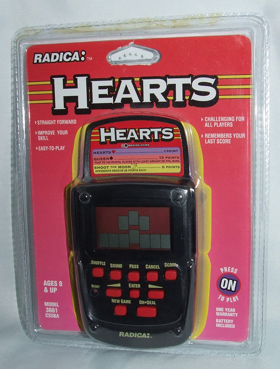 超格安価格 [Radica]Radica HEARTS Electronic Hand Held Game 4669394 [並行輸入品] B005JJL1ZK, cocoiro Gift market 7363f015