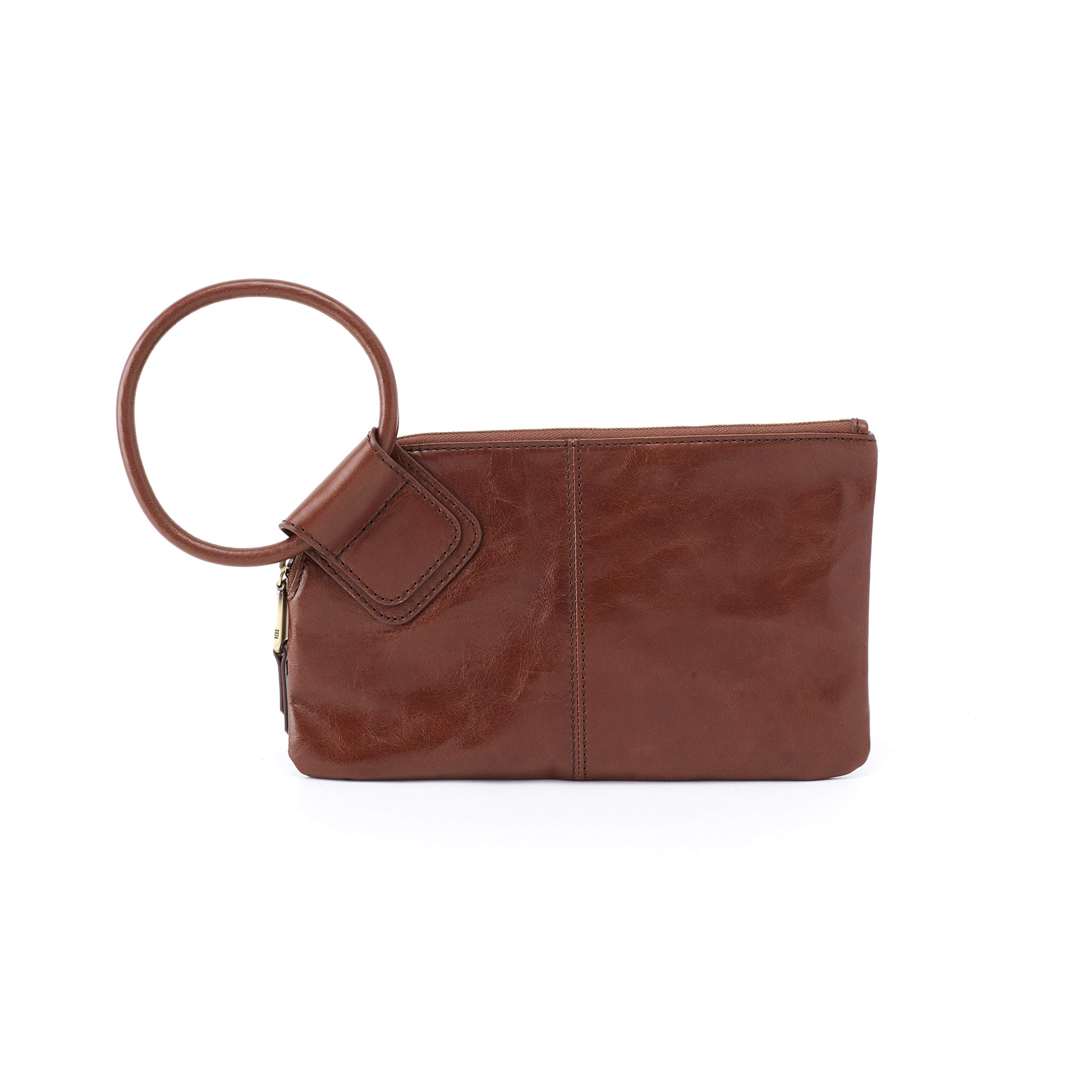 Hobo Women's Leather Sable Wristlet Clutch Wallet (Woodlands)