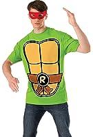 Nickelodeon Teenage Mutant Ninja Turtles Shirt With Mask and Raphael