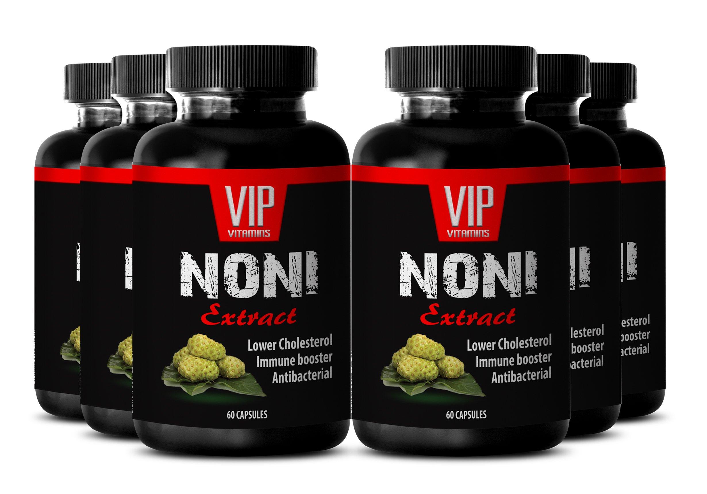 Nunaakai - NONI EXTRACT - Stress relief - 6 Bottles 360 Capsules