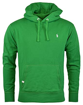 Polo Ralph Lauren Men\u0027s Performance Fleece Hoodie, GREEN (M) at Amazon Men\u0027s  Clothing store: