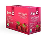 Ener-C - Natural Vitamin C 1000mg Immune Support, Drink Mix Powder Packets With Electrolytes For Hydration, Raspberry…