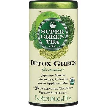 buy The Republic Of Tea Detox Green Supergreen Tea