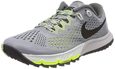 ed43d1fce8e49 Nike Women s Air Zoom Terra Kiger 4 Running Shoe 6 Grey