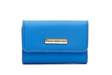 Tommy Hilfiger - Cartera para mujer Mujer azul azul