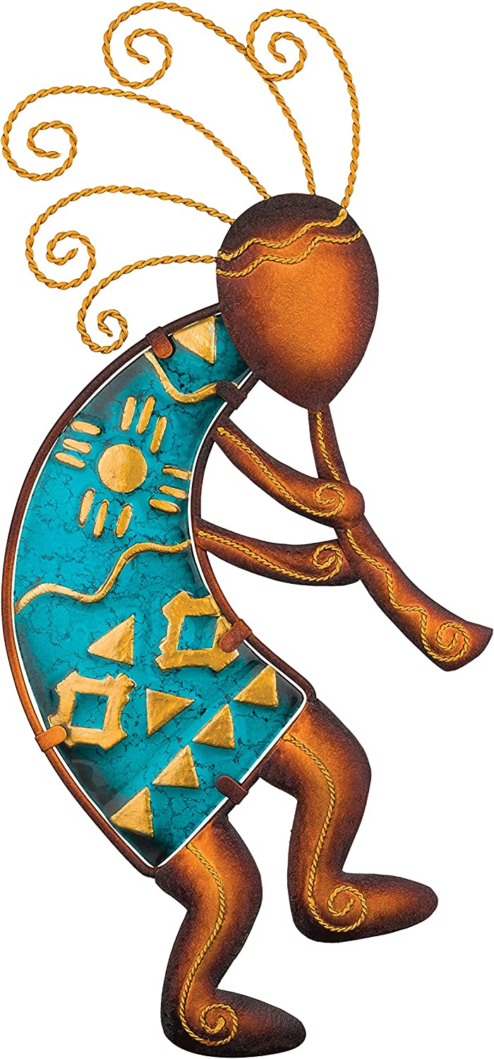 Regal Art & Gift Kokopelli Wall Decor, 15-Inch