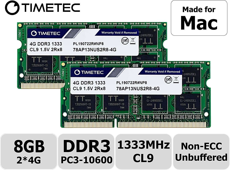 DDR3 Version 17 inch 2.8GHz New 8GB 2X4GB Memory APPLE MacBook /& MacBook Pro