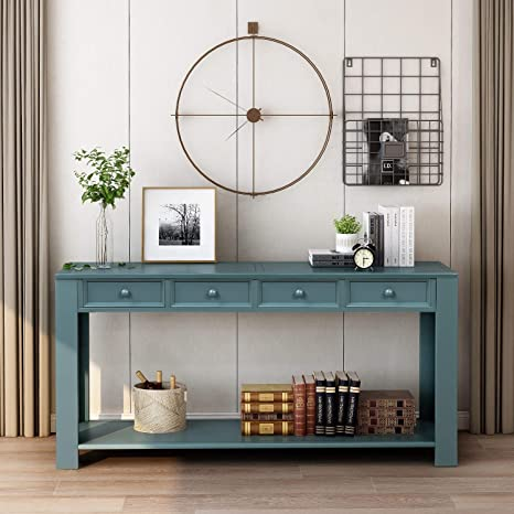 Amazon.com: 64 inch Long Sofa Console Table,JULYFOX Entryway