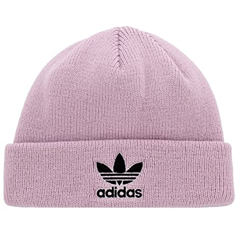 Amazon.com  Adidas Men s Originals Trefoil II Knit Beanie ec73de52796
