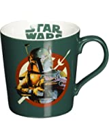 Vandor 99362 Star Wars Boba Fett Ceramic Mug, 12-Ounce, Multicolored