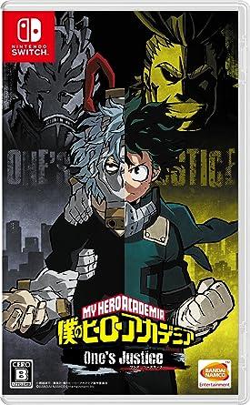 Bandai Namco Games Boku no Hero Academia Ones Justice NINTENDO ...