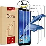 Aroyi 3 Pack Pellicola Protettiva Xiaomi Mi A2, Pellicola Protettiva in Vetro Temperato 9H Anti-Bolla Anti-graffio Glass Screen Protector Film per Xiaomi Mi A2/Xiaomi Mi 6X