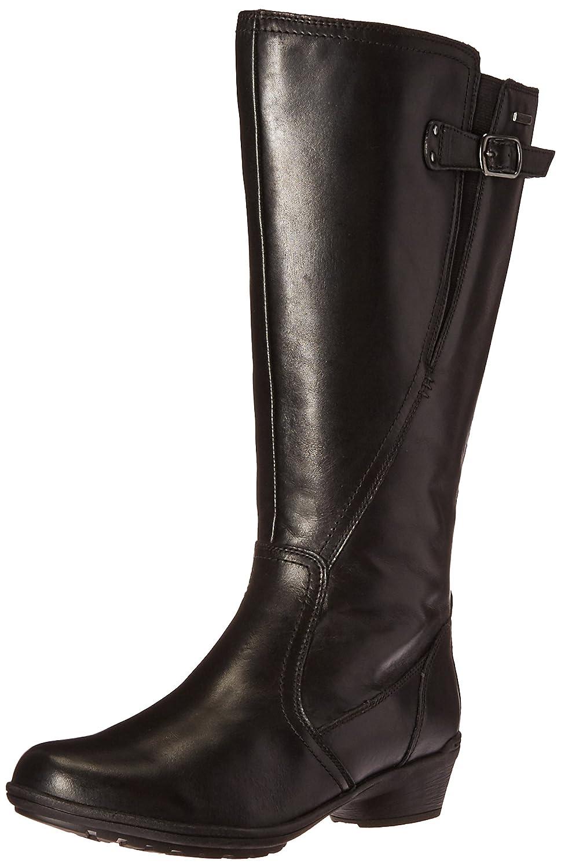 Cobb Hill Women's Rayna Wide Calf Rain Boot B01AKA76II 7 W US|Black