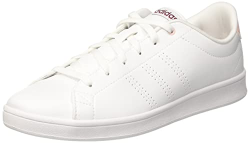 official photos 386b4 c7699 adidas Advantage Cl QT W, Scarpe da Ginnastica Basse Donna, Bianco Footwear  White Mystery Ruby, 42 2 3 EU  Amazon.it  Scarpe e borse