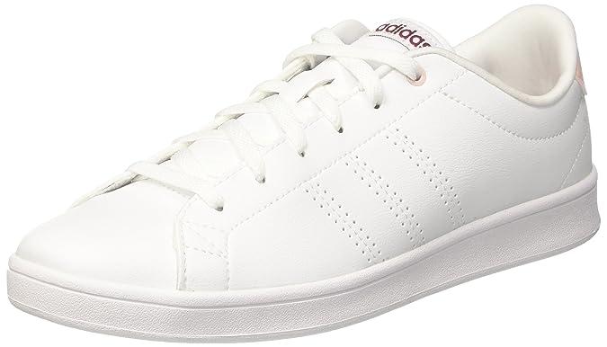 Adidas Avantage Qt Propre, Chaussures Femmes, Blanc (ftwr Blanc / Rubis Mystère), 40 Eu