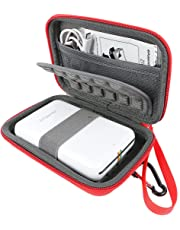 Khanka Portatile Custodia da viaggio Memorizzazione per Polaroid ZIP Stampante Portatile Zero Ink Printing (Rosso)