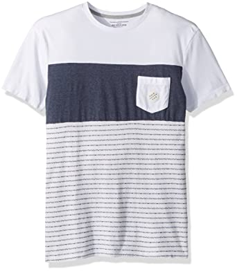 6f4732944205f Amazon.com  Quiksilver Men s Jacquard Block Tee Short Sleeve Knit ...