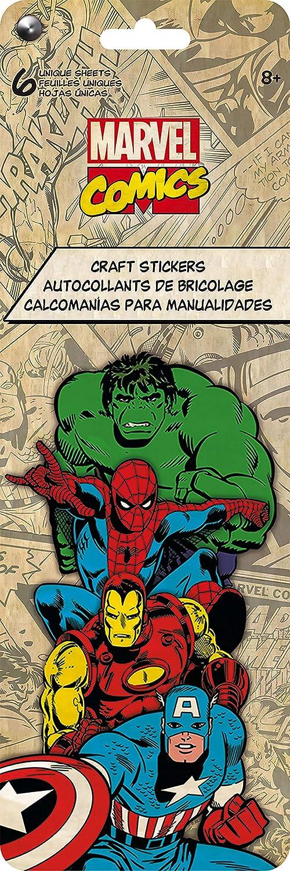 Trends International Marvel Classic Craft Sticker Flip Pack