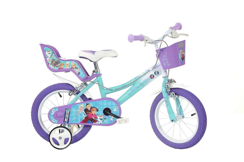 Disney Frozen 14インチバランスバイクブルー – Dino Bikes   B012FJ8Y10