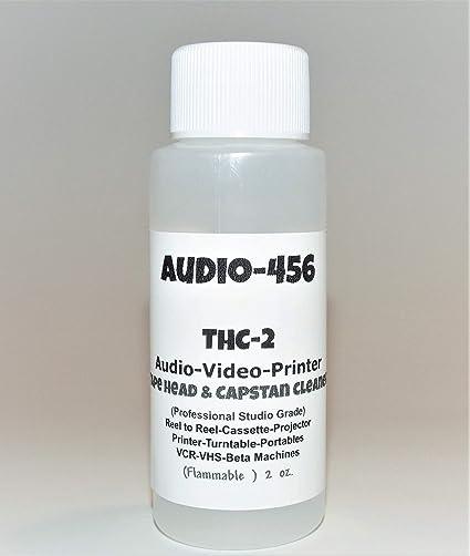 1) Audio 456 (2oz) THC-2 profesional de audio/vídeo cinta de ...