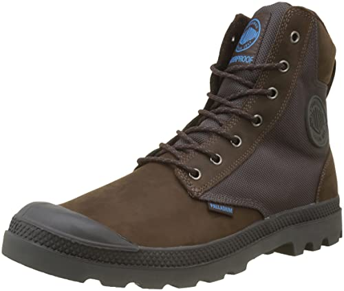 Palladium SPOR Cuf Wpn U, Sneaker a Collo Alto Unisex-Adulto, Marrone (Chocolate/Forged Iron), 36 EU