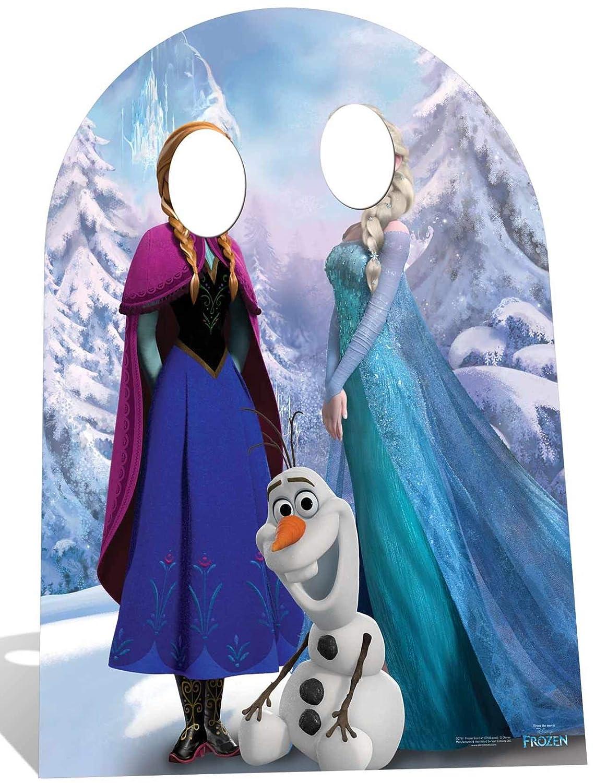 Disney Pappaufsteller Frozen Stand-In Höhe ca. 185cm Aufsteller Standup Figur Kinoaufsteller Pappfigur Cardboard Lebensgroß Life-Größe Standup