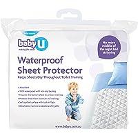 Baby U Waterproof Sheet Protector, white (5001)