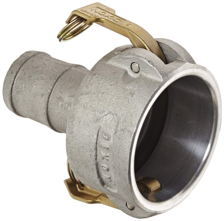 Dixon 3020-C-AL Aluminum Type C Cam and Groove Reducing Hose Fitting, 3'' Socket x 2'' Hose ID Push-On