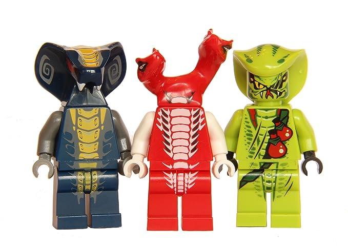 LEGO Ninjago - Slithraa Fangdam and Lasha - Serpentine Army 6