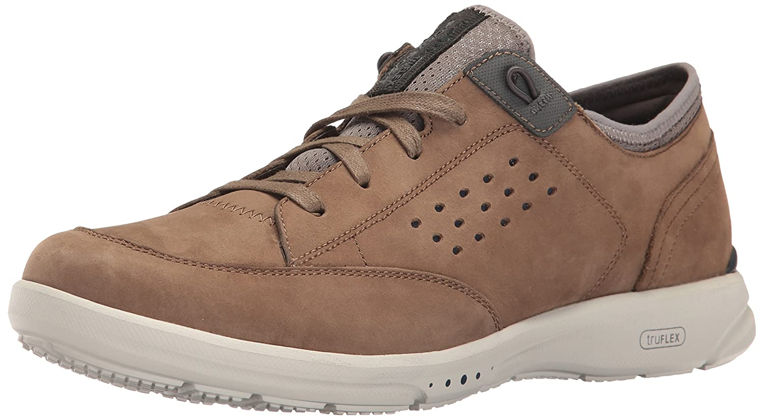 Rockport Men's Truflex Lace to Toe Shoe 9.5 D(M) US|Taupe