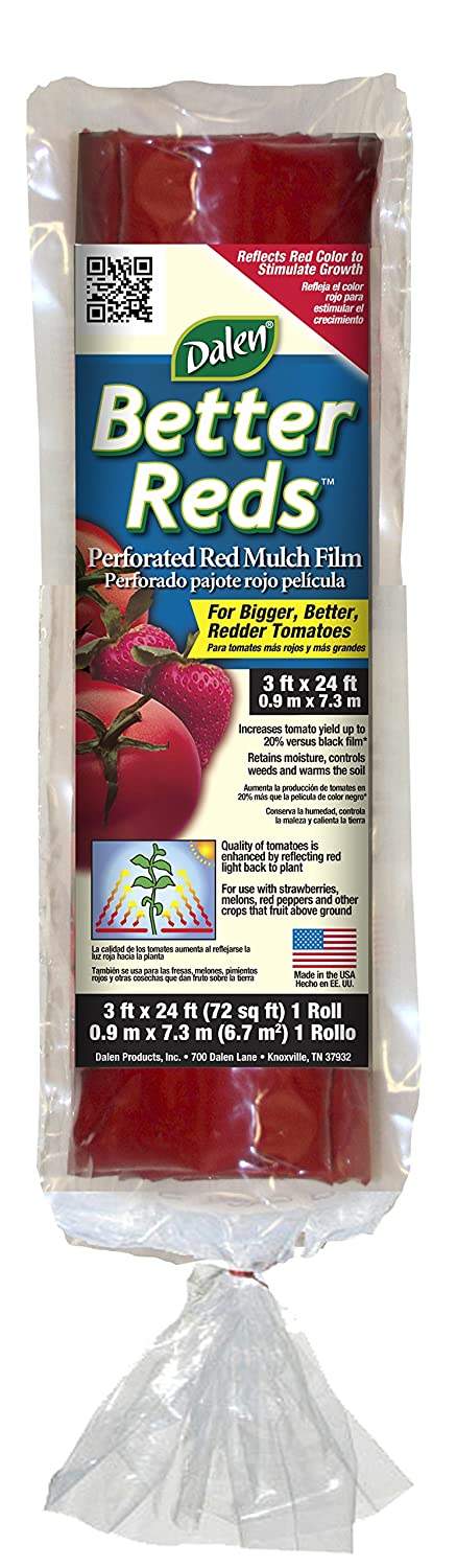 Gardeneer By Dalen Better Reds Mulch Film for Tomatoes 3' x 24' (BR12)