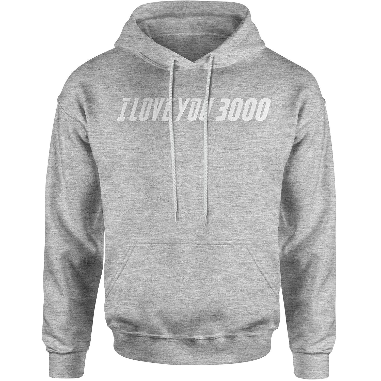 FerociTees I Love You 3000 Unisex Adult Hoodie