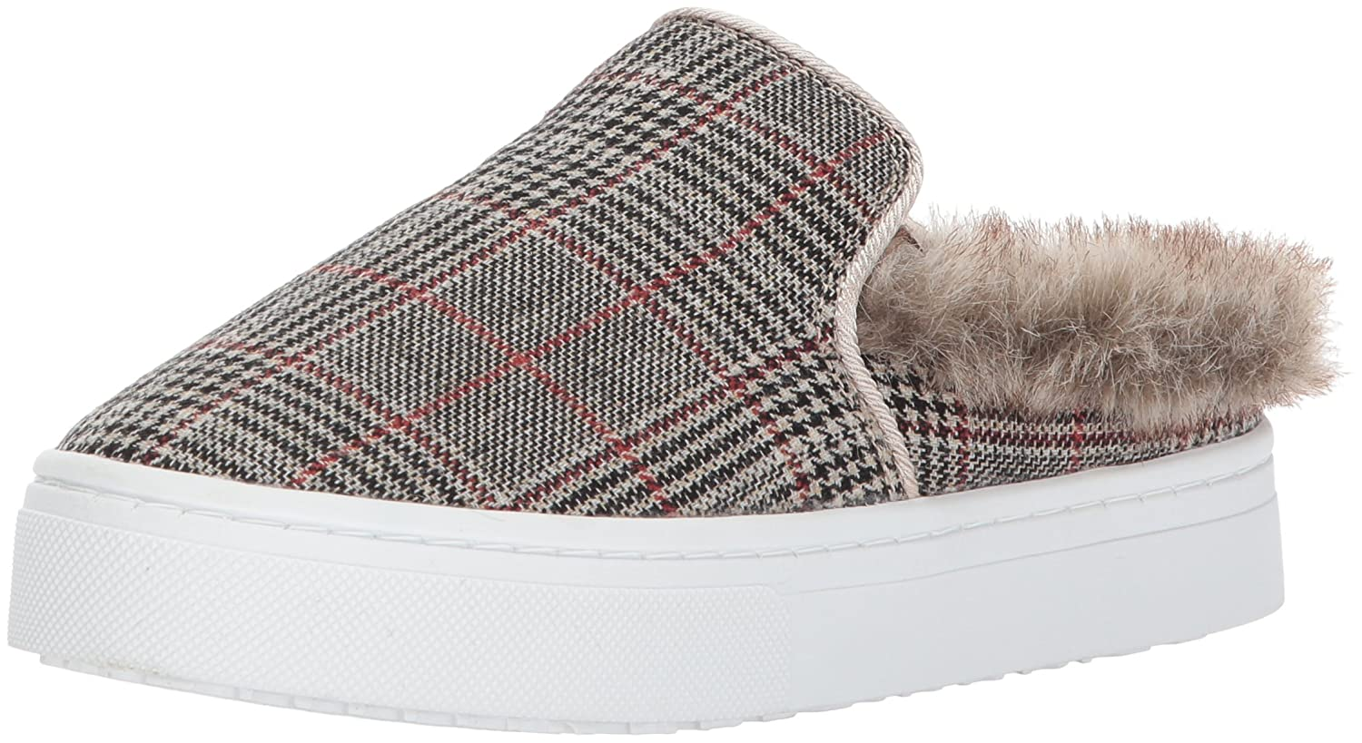 Sam Edelman Women's Levonne Sneaker B06XC286PQ 7.5 B(M) US|Tan Multi/Putty Plaid Print