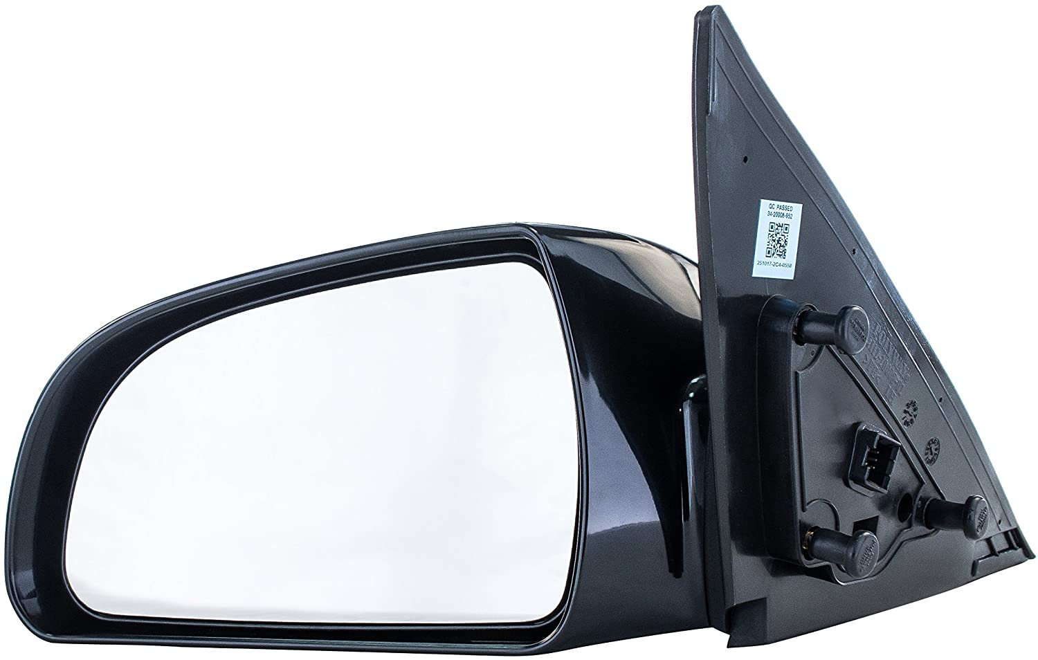 Make Auto Parts Manufacturing HY1321149 New Front Right//Passenger Side Power Operated Heated Non-Folding Door Mirror For Hyundai Sonata 2006-2010