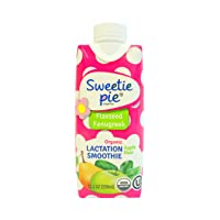Sweetie Pie Organics Lactation Smoothie with Fenugreek for Lactation Support, to...