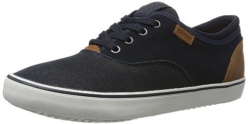 Geox Ou Boîte F, Chaussures Pour Homme, Bleu (navyc4002), 43 Eu