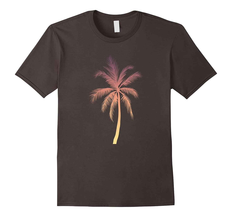 87f9cdc3d33 Palm Tree T-Shirt Hawaiian Tropical Summer Vacation Shirts-PL ...