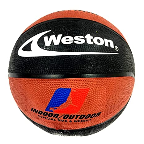 Weston WB1000 - Balón de Baloncesto (tamaño 7), Color Negro y ...