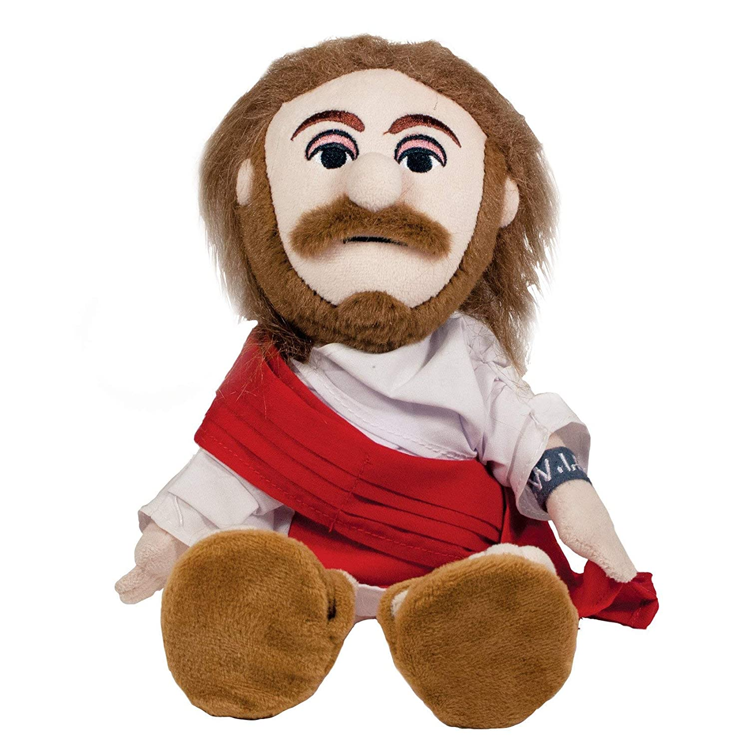 Unemployed Philosophers Guild Jesus Christ Little Thinker - 11' Plush Doll for Kids and Adults The Unemployed Philosophers Guild 289